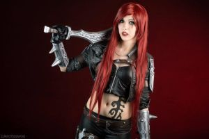 Katarina - League of Legends VII by FlorBcosplay
