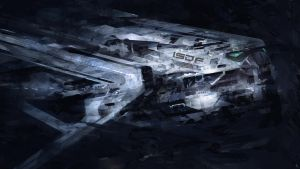 Space scribble by steve-burg