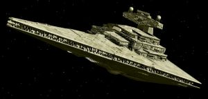 Imperial Star Destroyer. by Emigepa