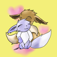 Love Eevee JT by AbyssinChaos
