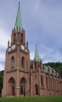 The Church in Drammen 05 by NenjasStock