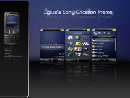 _glue's Sony Ericsson theme by glue-poland