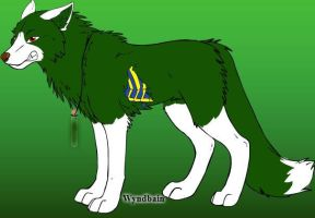 The Apple Thief  Crystal's wolfform by 20bumblebee