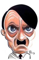 Adolf Hitler by raulcurbelo
