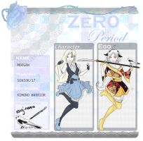 Zero Period App: Morgan by NiveousLamia