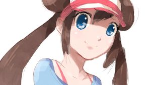 Pokemon Black White 2 Female Trainer :Sketch: by moxie2D