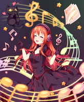 [+Video] Commission - Magical Melody by Hyanna-Natsu