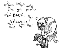 L4D2 - Jockey Valentine by b-dangerous
