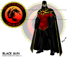 Black Sun Red, Variant by skywarp-2