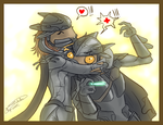 HALO:Dema_and_Maan by Jadeitor