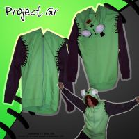'Project Gir' hoodie by celaeno-podarge