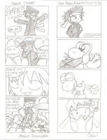2 Ouendan Related Comics by plushietoon