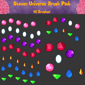 Steven Universe Brush Pack by Sigma-the-Enigma