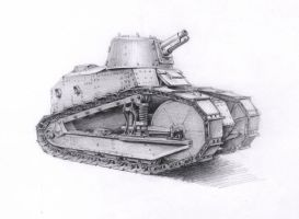 Renault FT-17 by VVVp