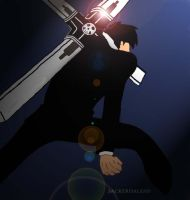 Nick.D.Wolfwood by sackerhale