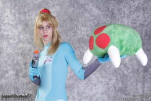 Metroid Encounter by Sheikahchica