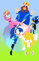 It's Sonic Time!! by Cometshina