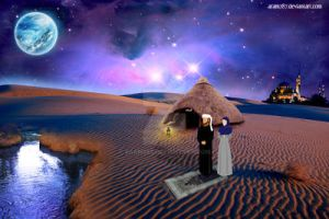desert prayer by aram287