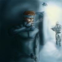Solid Snake by crossal
