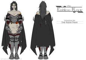 The Endless Knot ~ Flesh Thief Character Sheet by RipperSplitter