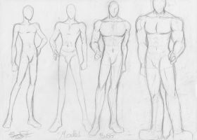 Male body type sketch by PandaDanceProduction