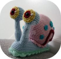 Crochet Gary the Snail by AAMurray