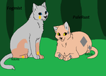 Fogmist and Palerust by Shadowpaw909