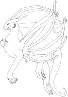 Dragon on wing by Ravwrin-NataEl