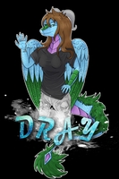Gift: Dray T-Shirt design by FeatheredSoap