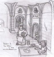 Redwall Game: Kitchen Concept by Aliies