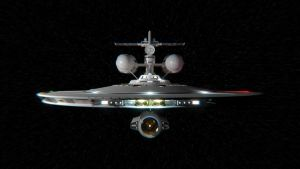 NCC-201 at Warp by ecHenry