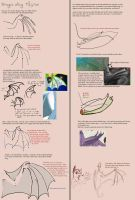 Dragon wing tutorial by kiki-doodle