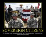 Sovereign Citizens Motivational Poster by DaVinci41