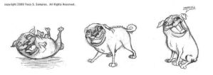 More Pugs by twiggy-trace
