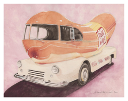 1952 Wienermobile by DawnstarW