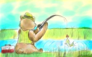 Fishing by Kaotheroogoncreator