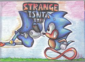 strange isnt it by supersonicartdrawer