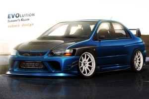 Lancer Evolution by Rob3rT----Design