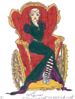 Nessarose by DemonCartoonist
