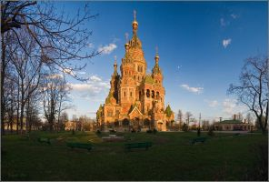 Peter and Paul Cathedral by YuppiDu