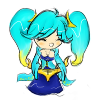 Chibi Sona by Luxianne