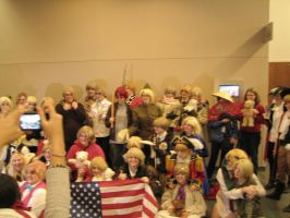 Ohayocon 2013: The Allies by LudwigElric118