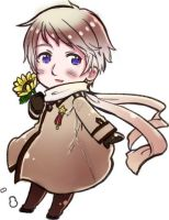 Hetalia- Russia Chibi Coloring by NoshingRabbit