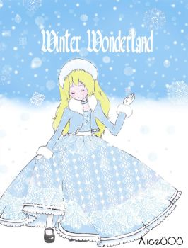 Alice In a Winter Wonderland by Alice808