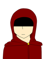 Mysterious hooded man(watches from a distance) by Insane-Alchemist