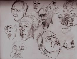facial expression study by Lorredelious