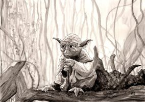 Master Yoda by Lord-Makro