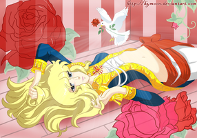 Lady Oscar Rose of Versailles by Kymoon