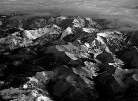 Snowy Mountains III by nebulae-decay