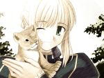 Saber With her Lion by Itou-Makoto18
